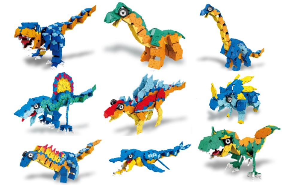 おすすめLaQ_恐竜sample