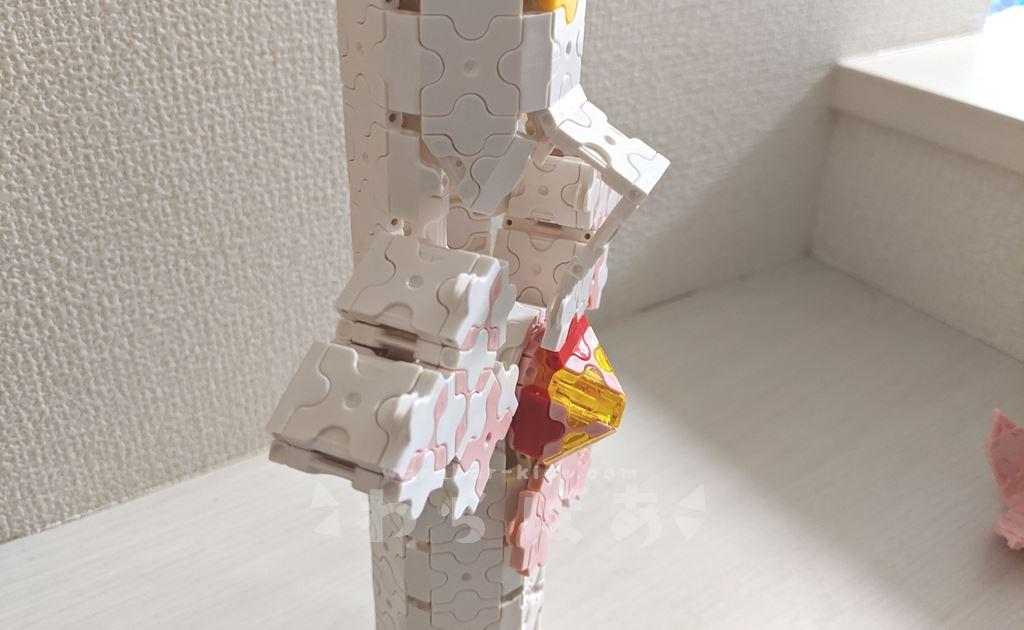 【プリキュア】LaQ(ラキュー)で変身ヒーリングステッキの作り方11