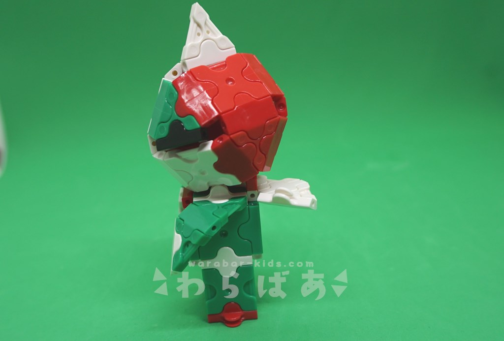 LaQで仮面ライダーV3の作り方02