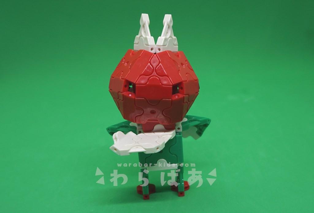 LaQで仮面ライダーV3の作り方04