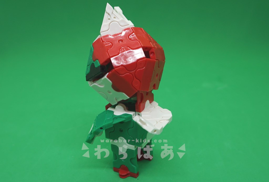 LaQで仮面ライダーV3の作り方05