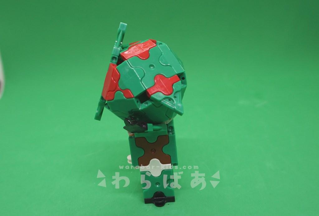 LaQで仮面ライダーアマゾンの作り方04