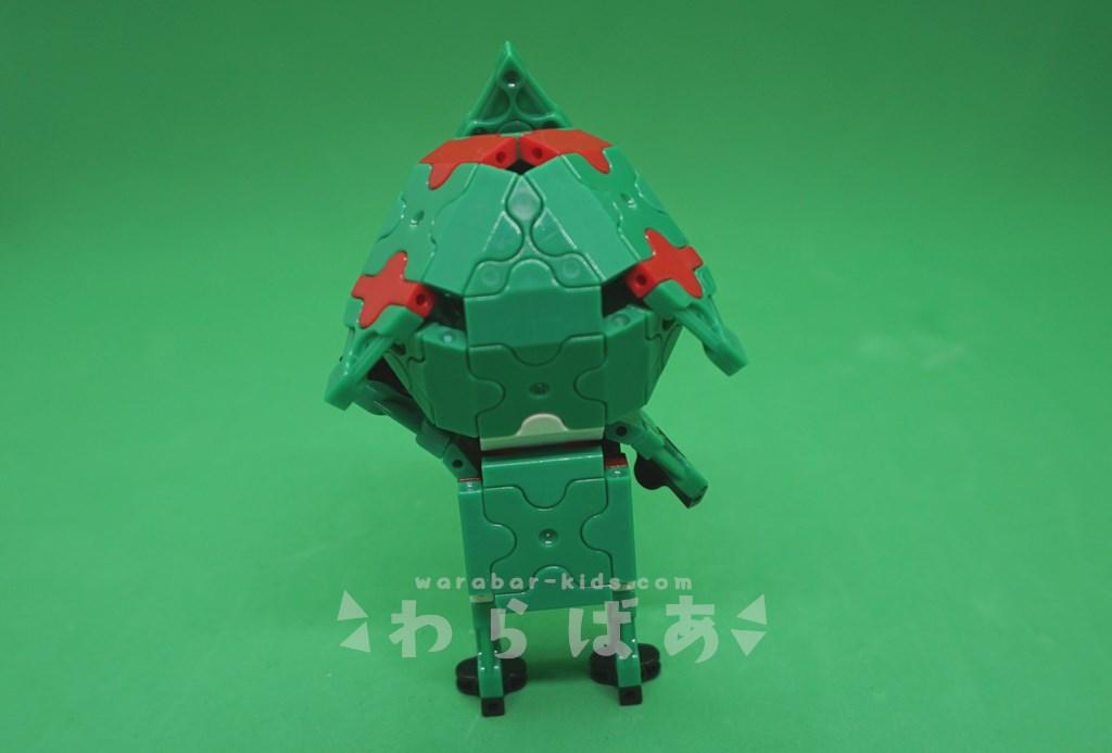 LaQで仮面ライダーアマゾンの作り方02