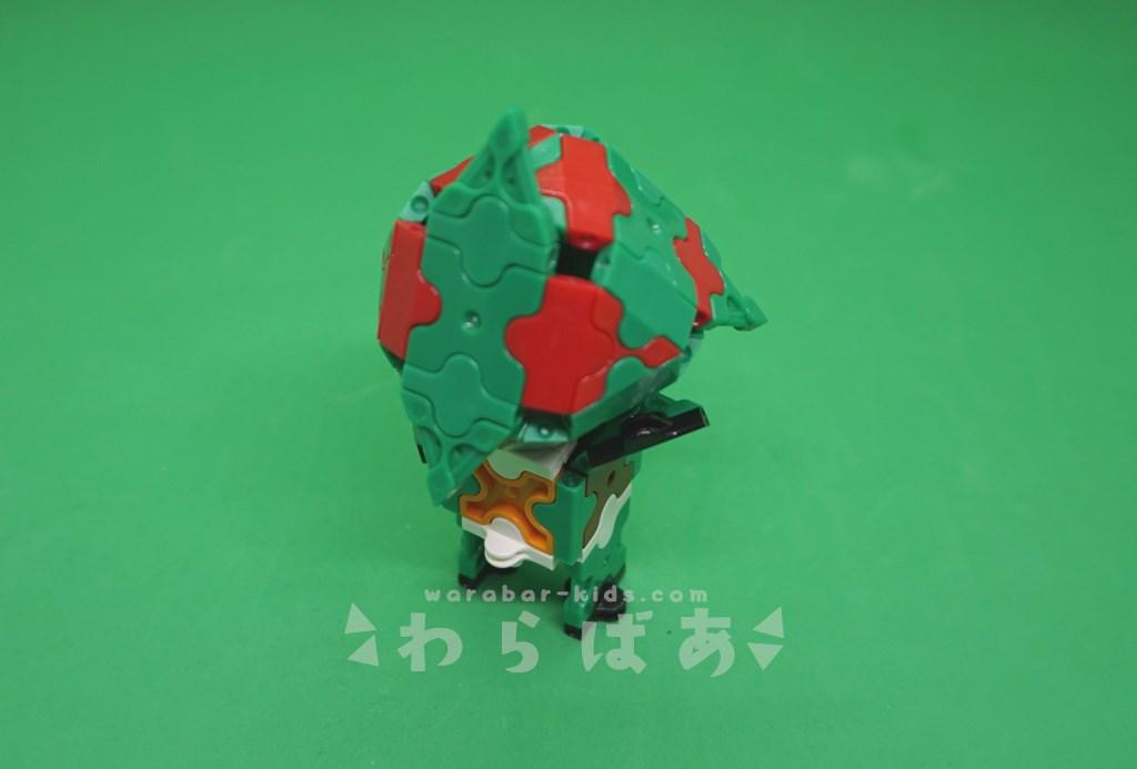 LaQで仮面ライダーアマゾンの作り方01