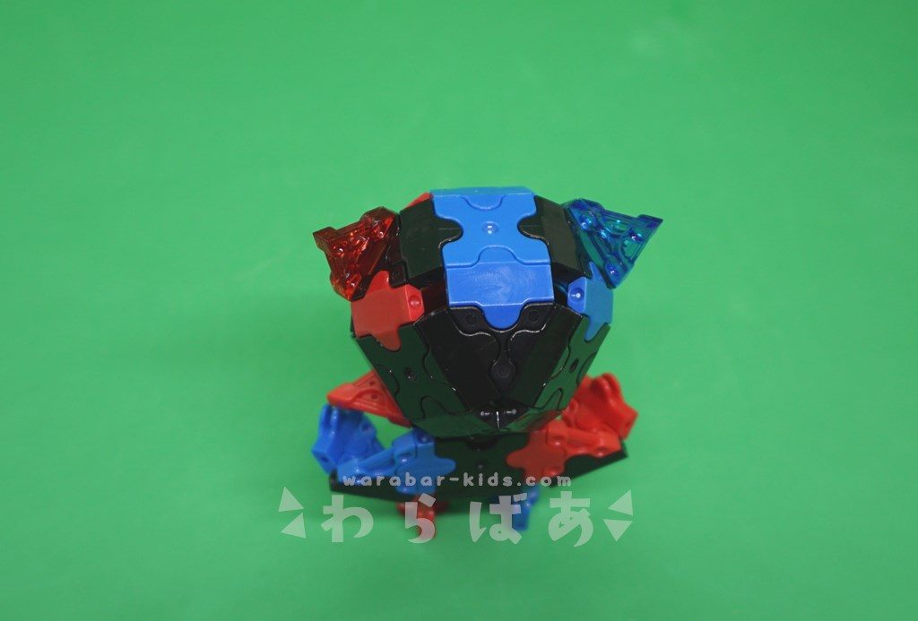 LaQで仮面ライダービルドの作り方04