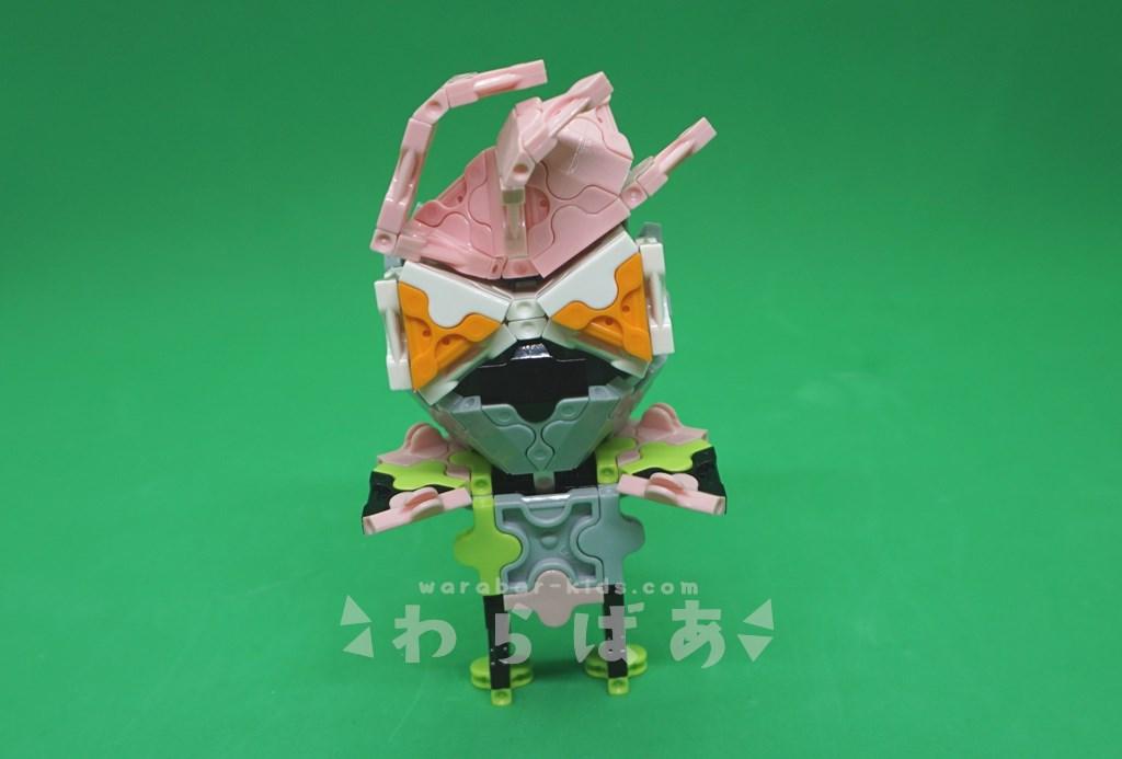 LaQで仮面ライダーエグゼイドの作り方05