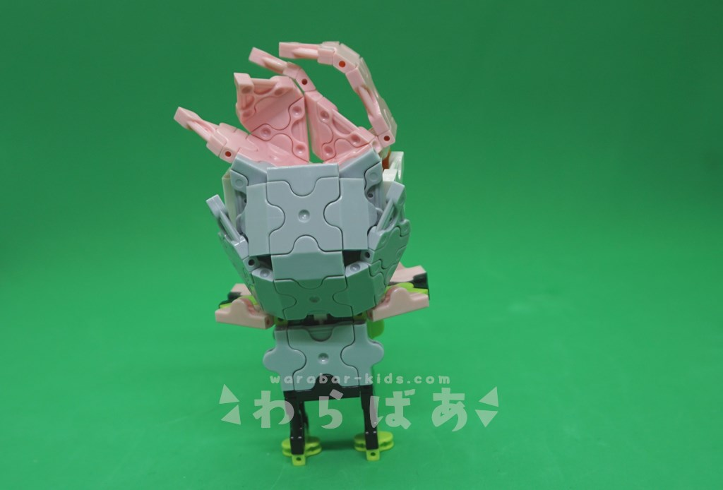 LaQで仮面ライダーエグゼイドの作り方04