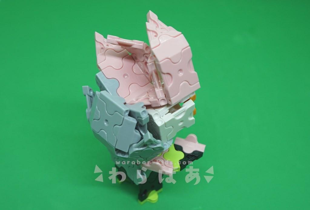 LaQで仮面ライダーエグゼイドの作り方03