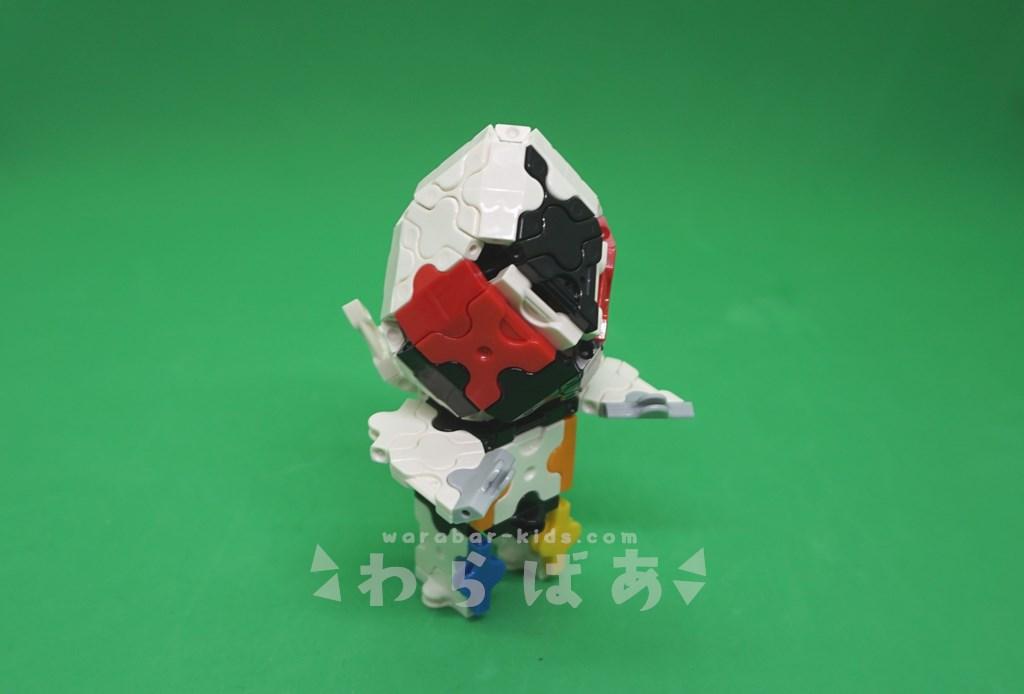 LaQで仮面ライダーフォーゼの作り方02