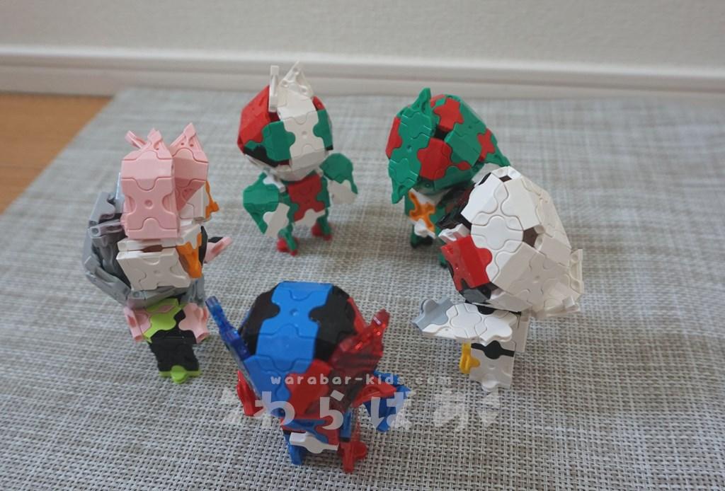 LaQで仮面ライダーの作り方00