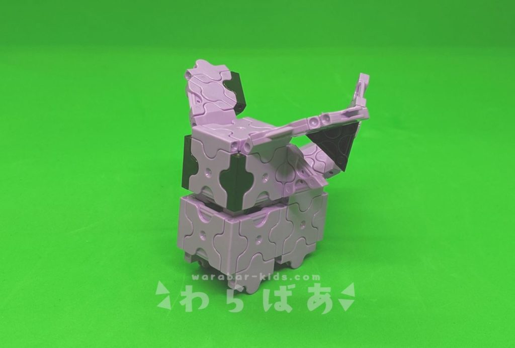 LaQ(ラキュー)でエーフィの作り方【人気のポケモン】01