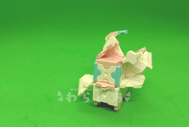 LaQ(ラキュー)でニンフィアの作り方02