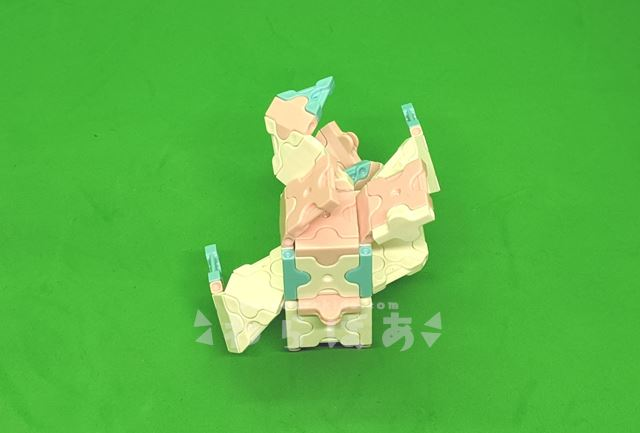 LaQ(ラキュー)でニンフィアの作り方06