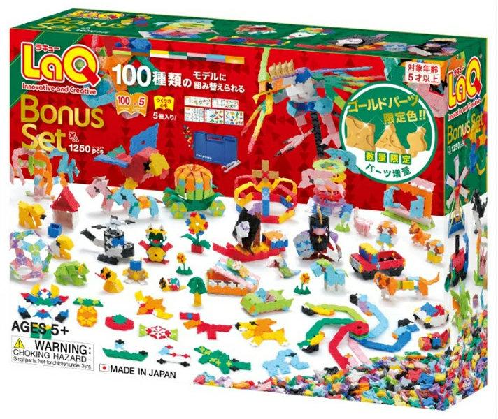 クリスマスプレゼントにおすすめのラキューボーナスセット01