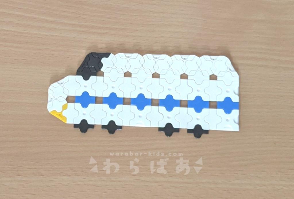 LaQで新幹線(しんかんせん)の作り方01