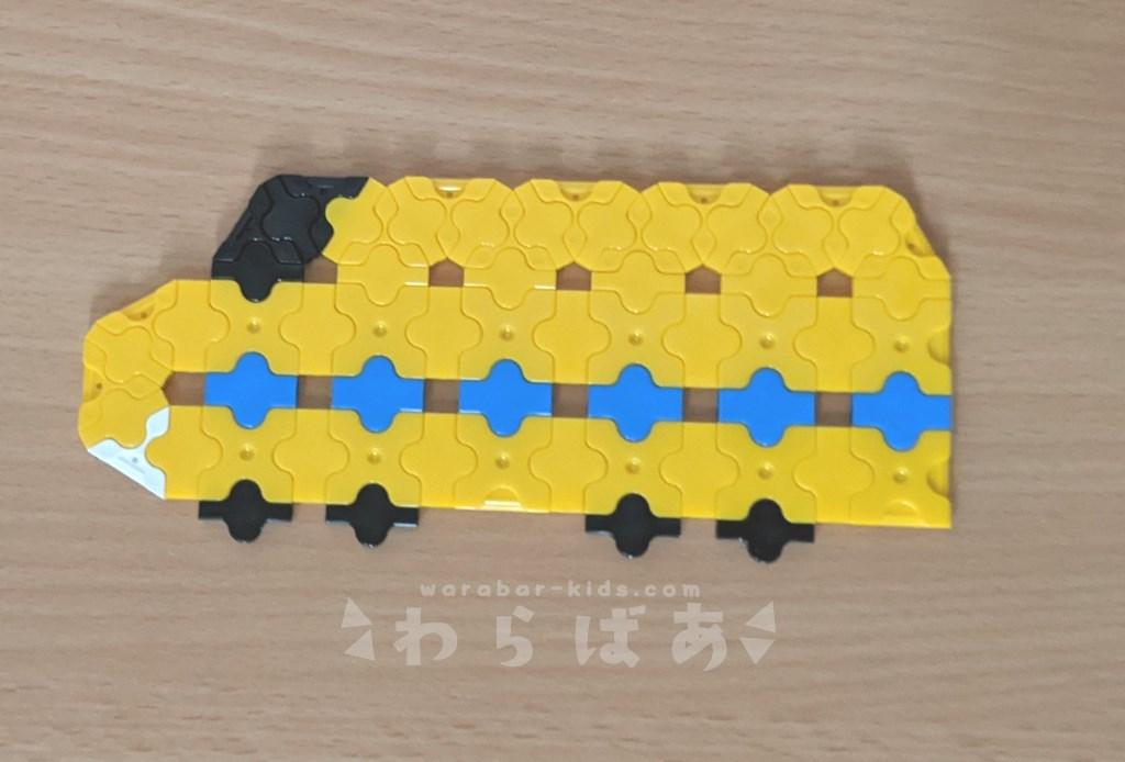 LaQで新幹線(しんかんせん)の作り方02