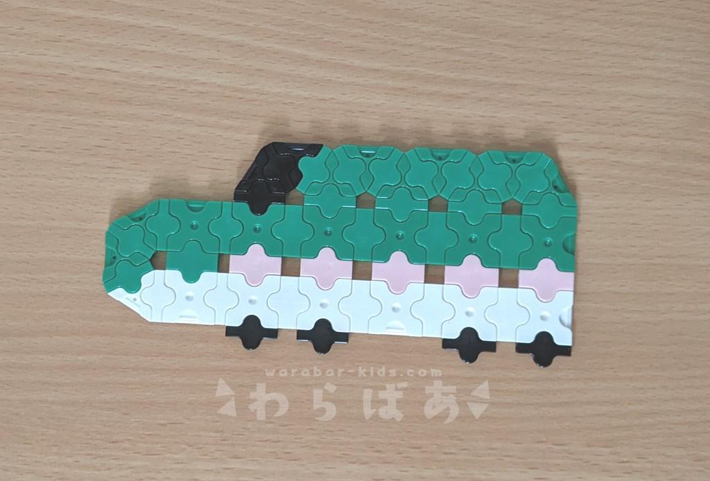 LaQで新幹線(しんかんせん)の作り方04