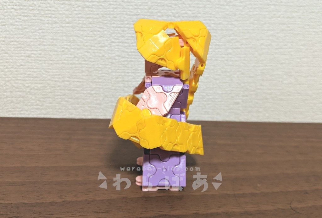 LaQ(ラキュー)塔の上のラプンツェル作り方【ディズニープリンセス】03