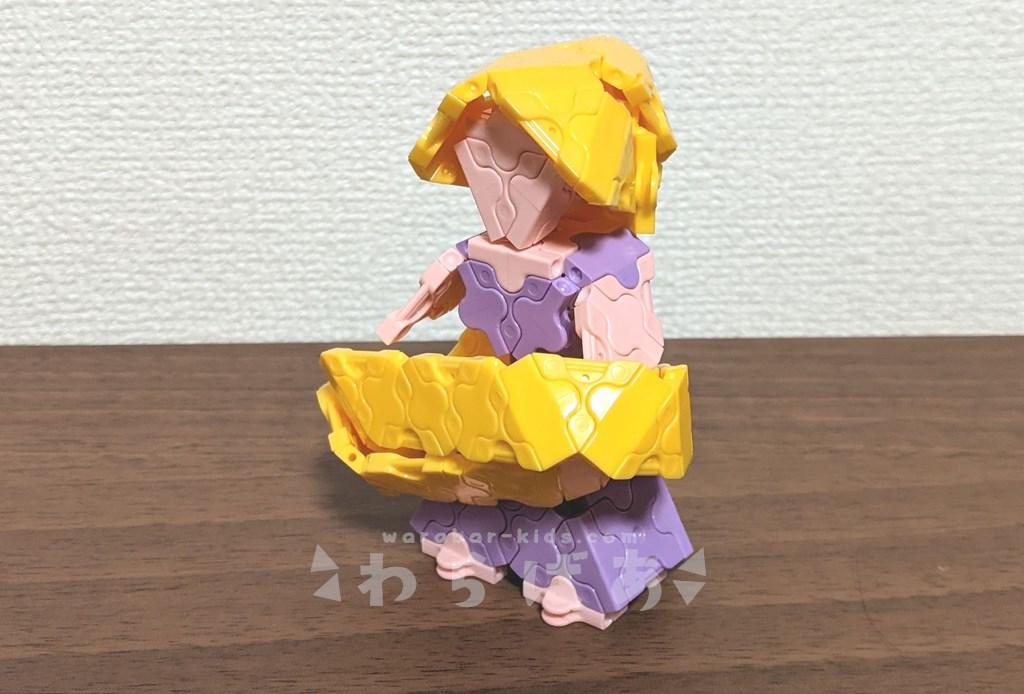 LaQ(ラキュー)塔の上のラプンツェル作り方【ディズニープリンセス】04