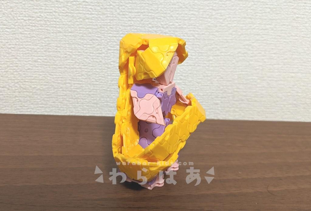 LaQ(ラキュー)塔の上のラプンツェル作り方【ディズニープリンセス】06