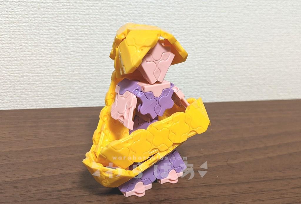LaQ(ラキュー)塔の上のラプンツェル作り方【ディズニープリンセス】07