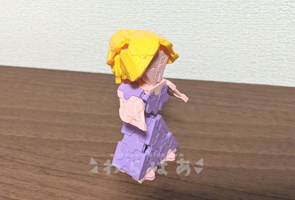 LaQ(ラキュー)塔の上のラプンツェル作り方【ディズニープリンセス】14
