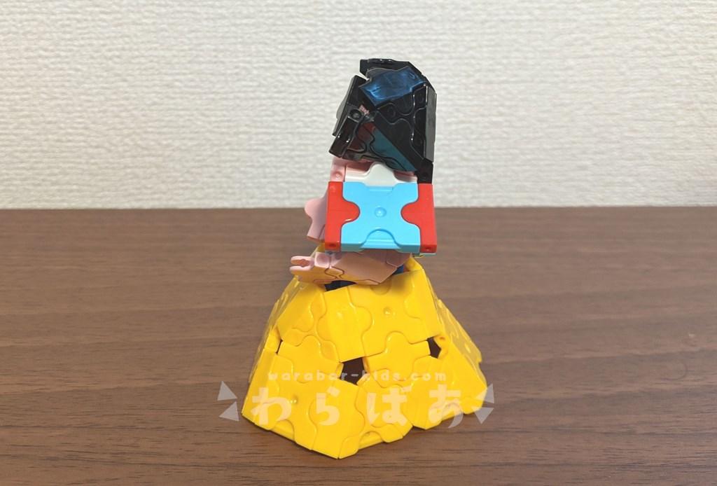 LaQ(ラキュー)白雪姫の作り方【ディズニープリンセス】03