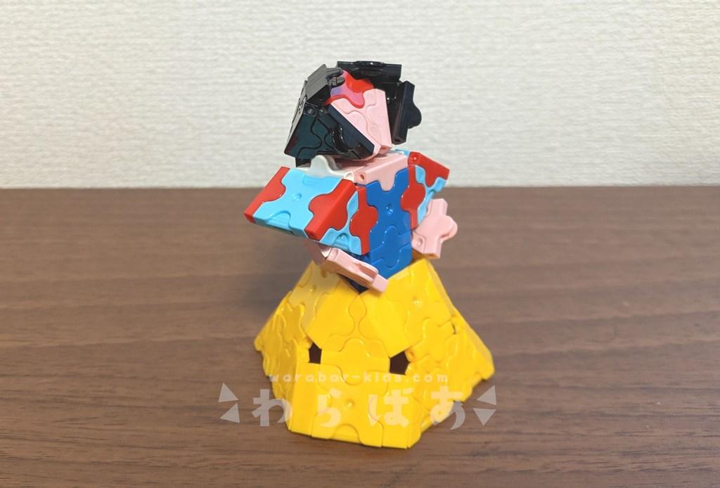 LaQ(ラキュー)白雪姫の作り方【ディズニープリンセス】05