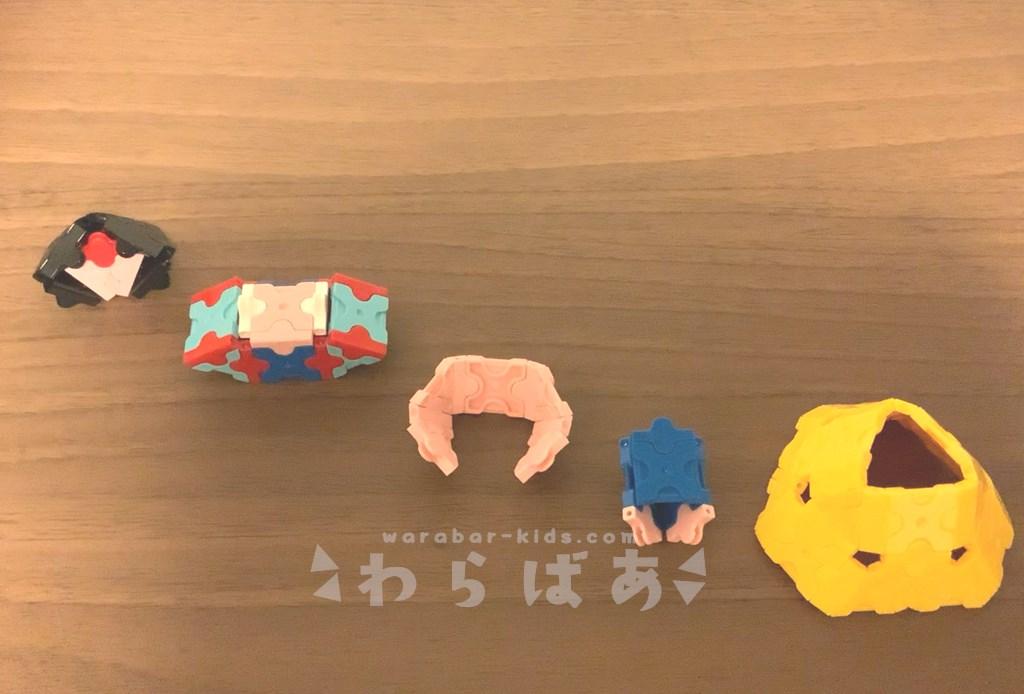 LaQ(ラキュー)白雪姫の作り方【ディズニープリンセス】07