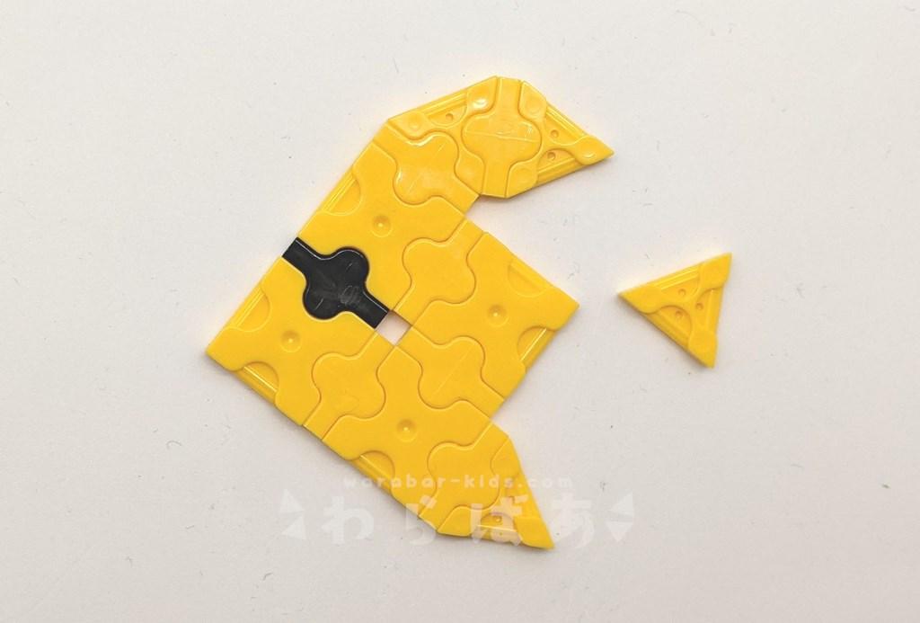 LaQで魚(さかな)の作り方02