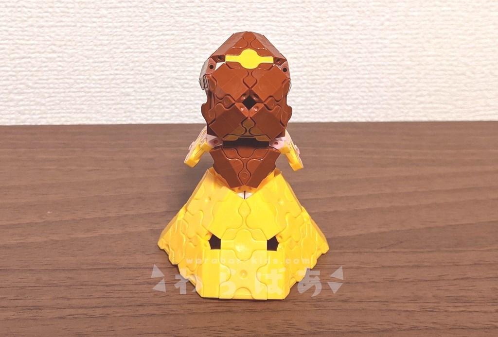 LaQ(ラキュー)美女と野獣ベルの作り方【ディズニープリンセス】04