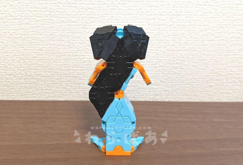 LaQ(ラキュー)アラジンのジャスミン作り方【ディズニープリンセス】05
